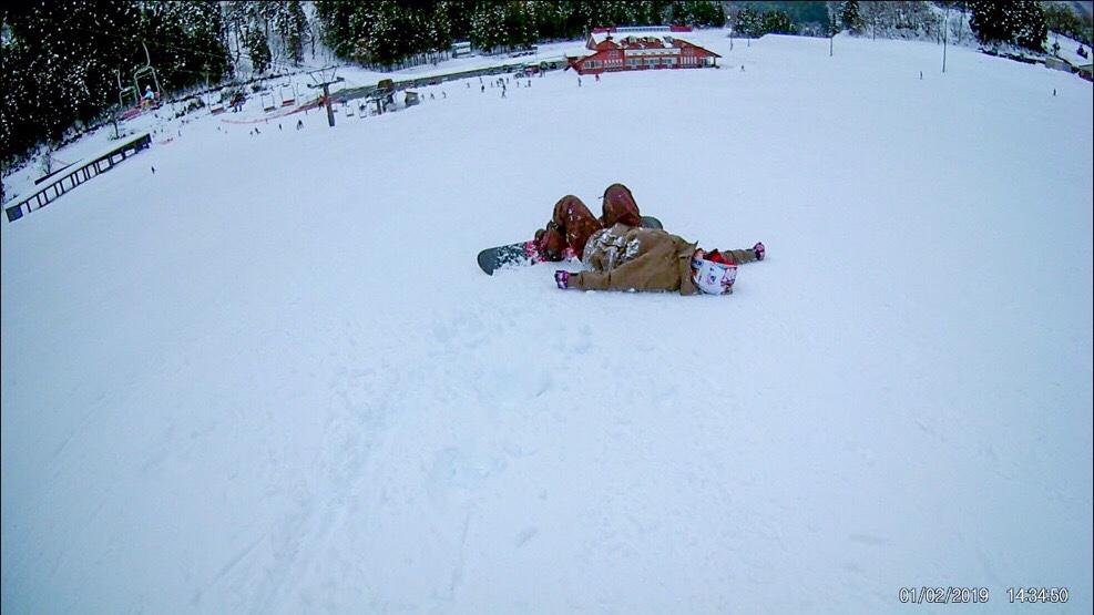 43歳スノーボードデビュー!