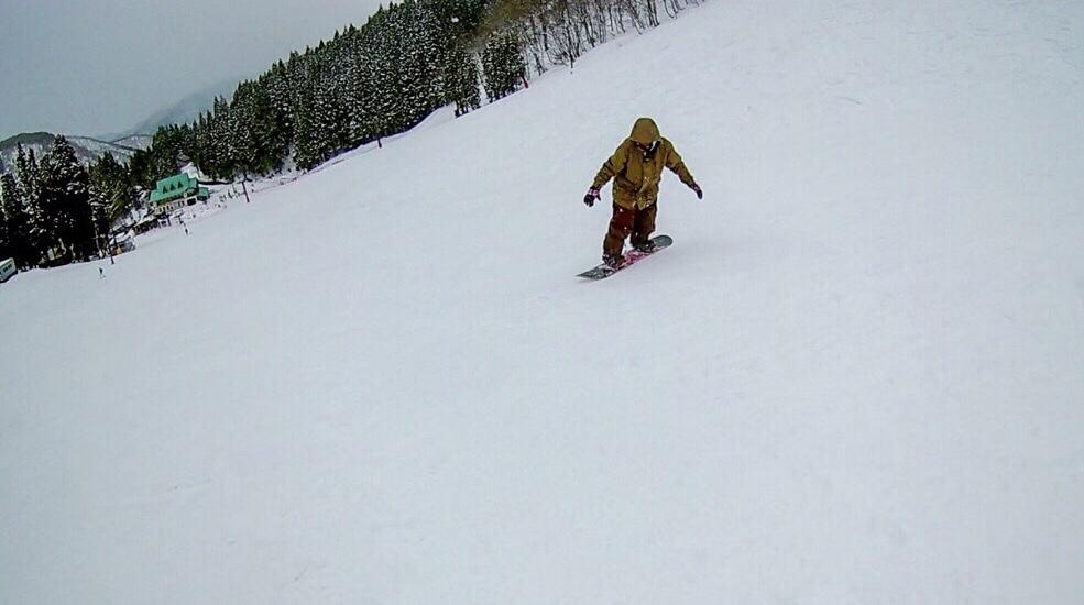 スノーボードのゼロを見つけた